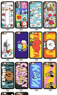 BT21 IPHONE COVER PHONE (UNOFFICIAL)