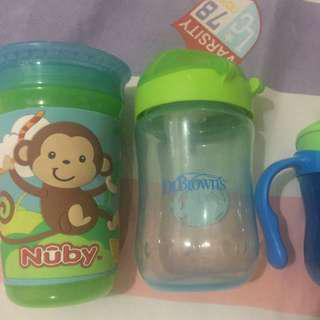 Sippy Cup 3 Pcs