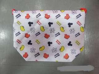 Disney Mickey 廸士尼 米奇老鼠 索繩雜物/飯盒/化妝袋