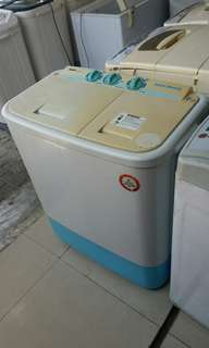 Mesin cuci 2 tabung sanyo smart beauty 7kg