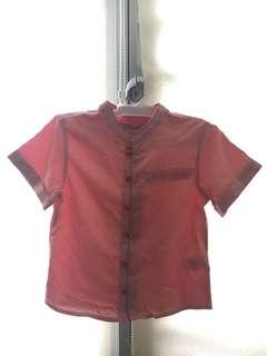 🚚 CNY Cheongsam Shirt for Boys