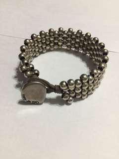 925 銀手鏈 (銀珠穿成)