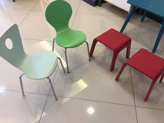 Toddler / children chair and table (solid wood)
