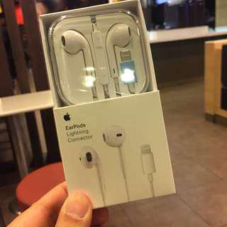 Apple EarPods earphone Headset bluetooth lighting