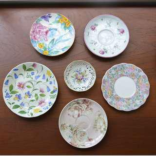Small Plates/Saucer/Cake plate /Wall Deco
