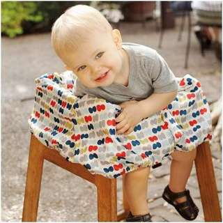 Car seat and high chair cover