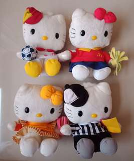 Hello Kitty 4pcs Mcdo Stuff Toy