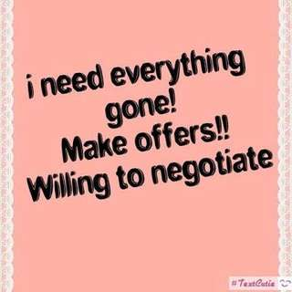 Need everything gone