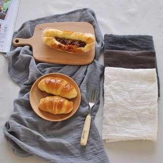 Nordic Cotton Linen Tea Towel Kitchen Photo Background