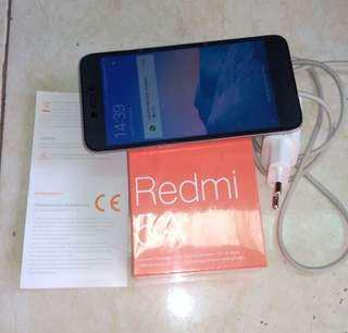 Xiomi Redmi 5A Fullset mulus original
