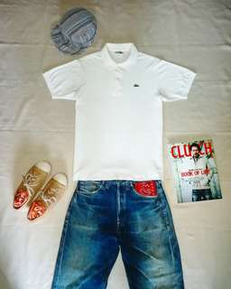 Vintage Lacoste Polo shirt (Japan Vintage Style)