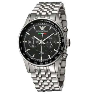 EMPORIO ARMANI Chronograph Men's Steel Watch AR5983