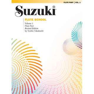 SUZUKI FLUTE SCHOOL VOLUME 1: FLUTE PART (REVISED EDITION)