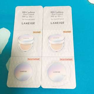 Laneige BB Cushion Sample no.23