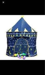 Tickle Castle Tent Blue