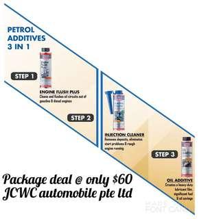 3 in 1 petrol additive
