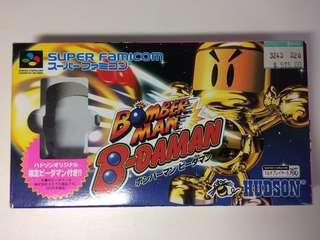絕版!超級任天堂 Bomberman 炸彈人
