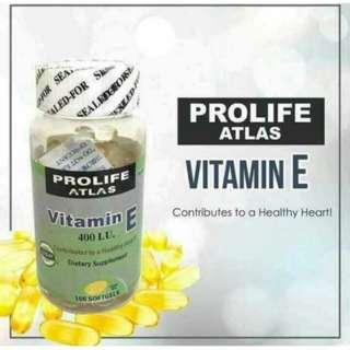 For Take All! Prolife Atlas Vitamin E