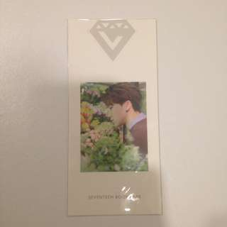 SEVENTEEN The8 Love and Letter Bookmark PC