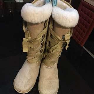 雪靴 長靴 #女裝88
