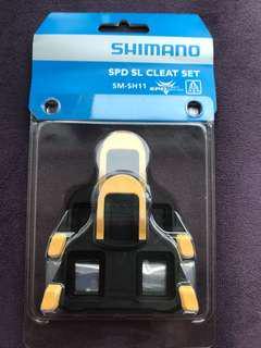 SHIMANO Lock - SPD SL Cleat (Yellow)