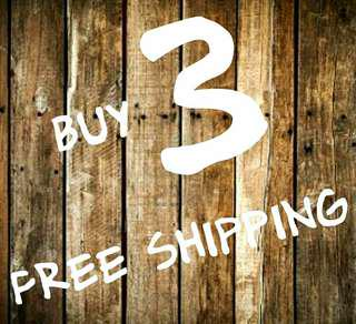 buy 3 for free shipping w/in metro manila only