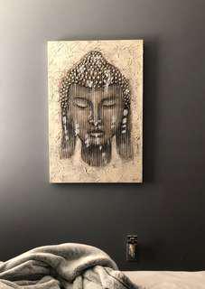 Buddha large canvas