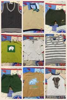 TAKE ALL 1-2years old tops