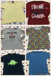 TALE ALL toddler shirts