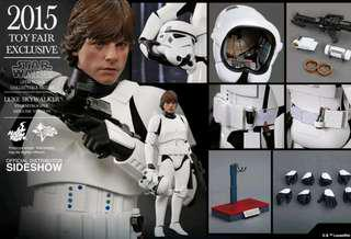 2015 TOY FAIRS EXCLUSIVE MMS304 STAR WARS: EPISODE IV A NEW HOPE 1/6  LUKE SKYWALKER STORMTROOPER DISGUISE VER.