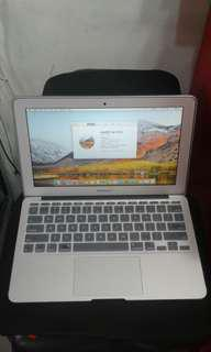 Macbook Air 11 i7/4gb/256gb ( mid 2013 ) macOS And Windows 7