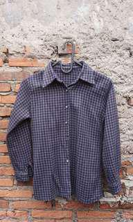 Navy Flanel