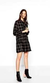 Zara Checkered Dress
