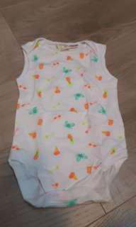 🚚 降價拍賣🌞全新美國zara baby 復古風寶寶包屁衣
