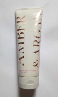 Bath and Body Works Amber and Argan Body Cream