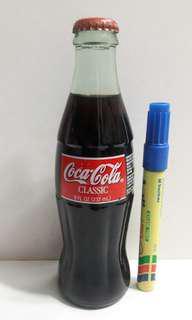 全新 1996年 COCA-COLA 可口可樂 CLASSIC 237mL 玻璃樽 汽水一支 (K)