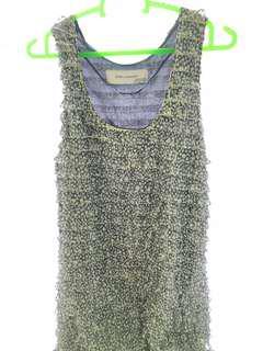 ZARA - Blue Sleveless Dress