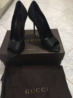 Gucci Peeptoe Shoes