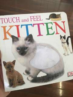 Toddler book: Touch and Feel