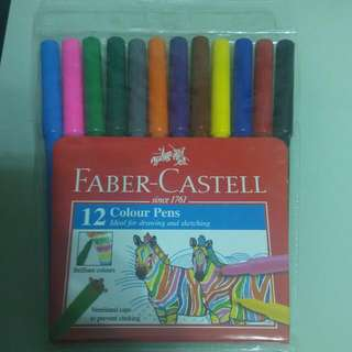 Faber Castell color pens     水筆