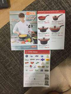 Aeon Big de chef cookware stickers