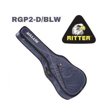 266dd0d2a7 Ritter Performance RGP2-D/BLW Dreadnought Acoustic, Navy-Light Grey-White