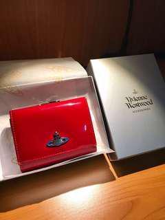 🚚 Vivienne Westwood 皮夾 正紅