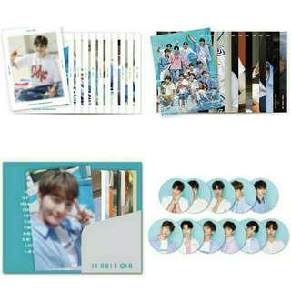 Wanna One Summer Package (Photobook+Photocard+Mini Bromide+PVC Sticker)