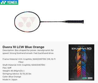 Duora 10 LCW Blue Orange
