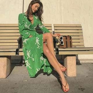 Korean Wrap Dress/Kimono