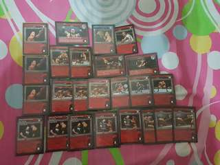 Wwe raw deal reversal cards face deck building