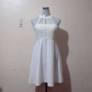 BNWT Airspace White Formal Dress