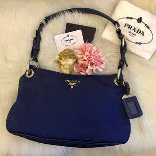 Authentic Prada BN4894 Tessuto Shoulder Bag