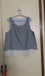 Stripes Sleeveless